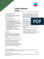Chevron Open Gear Lubricant