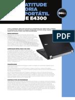 Latitude e Family Ultra Portable Specsheet Pt Br