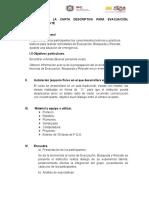 GUIA PARA LA ELABORACIÓN DE LA CARTA DESCRIPTIVA DE EVACUACIÓN, BÚSQUEDA Y RESCATE