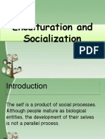 CHAPTER 4 LESSON 1 ENCULTURATION AND SOCIALIZATION
