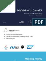mvvmFX - JavaOne 2016