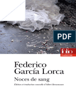 Federico Garcia Lorca - Noces de sang