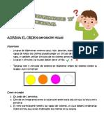 ADIVINA EL ORDEN JUEVES O9