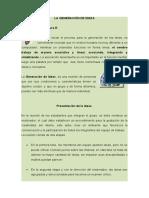 3. GENERACIÓN DE IDEAS