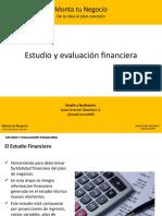 Estudio y ev financiera