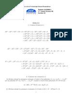 SERIE_Polynômes_Corrigé