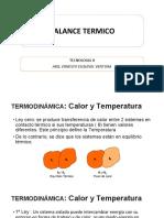 BALANCE TERMICO TECNO II
