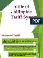 Prelim-1-Profile-of-Philippine-Tariff-System