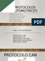 Protocolos de comunicación automotriz