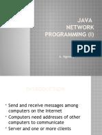Antony Java Network programming (i) Intro to Java Network Programming