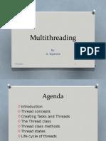Antony Notes - Multithreading