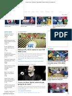 Cricket Score, Schedule, Latest News, Stats & Videos _ Cricbuzz.com