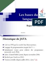 Chap 1 Les bases du langage Java