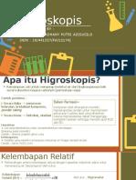 Higroskopisitas