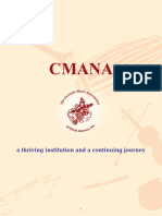 CMANA. a Thriving Institution and a Continuing Journey