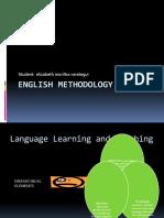 English methodology course