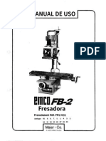 Manual de uso EMCO FB-02
