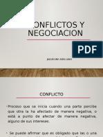 CONFLICTOS Y NEGOCIACION 1