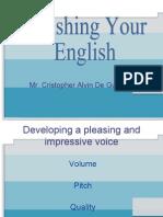 polishing englis new