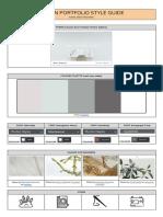 portfolio style guide example yasmin su xin ong