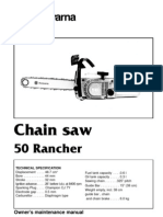 Husqvarna Rancher 50 -User manual