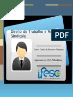 APOSTILA - DIREITO DO TRABALHO E RELAÇÕES SINDICAIS