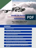 GESTÃO DE PROCESSOS - Administração