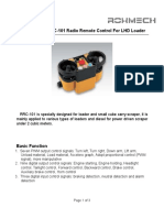 RRC-101 Radio Remote controller