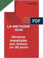 LA METHODE RUIZ Devenez imbatta - Louviers, Jean-Baptiste