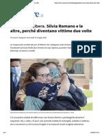 Silvia e Le Vittime Ferite Due Volte - Avvenire 13/05/2020