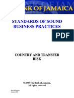 Standards-Country and Transfer Risk