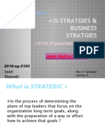 IS Stratgies & Business Stratgies
