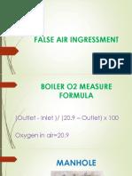 False air in boilers by Virendra Kumawat
