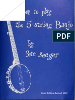 How to play the 5-string banjo  a manual for beginners