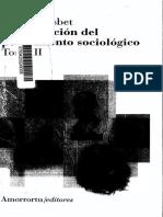 La formación del pensamiento sociológico, tomo II - Robert Nisbet