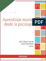 Aprendizaje escolar desde la psicología