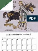 Scottish Legends Calendar