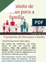 O Propósito de Deus para a Família - Pr. David Merkh