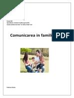 comunicare in familie