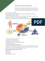 alternative system of medicine