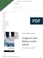 Amigurumi deer Marley crochet tutorial _ Amiguroom Toys