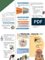 Diptico La Historia