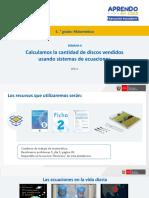 Matematica5 Semana 6 - Dia 3 Solucion Matematica Ccesa007