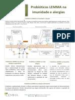 Probióticos LEMMA na Imunidade e Alergias_2017