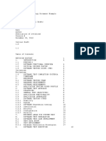 Software Test Strategy Document Example