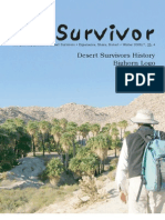 Winter 2006 The Survivior Newsletter ~ Desert Survivors