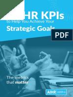 AIHR 15 Key Performance Indicators for HR
