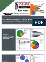Relatório gerencial – Jade Assessoria e Consultoria - Abr2020YTD - Unilever Indaiatuba