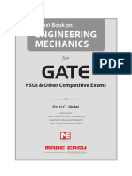 Engineering Mechanics for GATE_2018