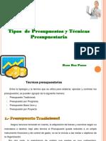 3. TEMAS III TIPOS DE PRESUPUESTO Y TECNICAS PRESUPUESTARIAS-POA (1)
